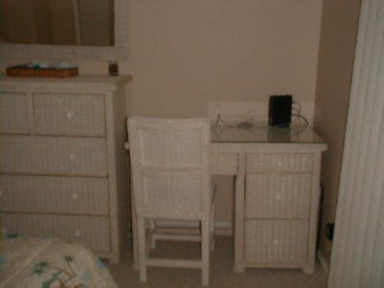 Master BR Desk & Dresser