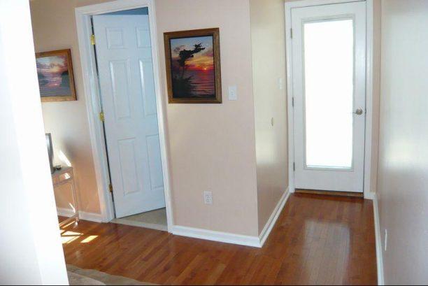 2nd Floor Sitting and TV Area, New Hardwood Floor