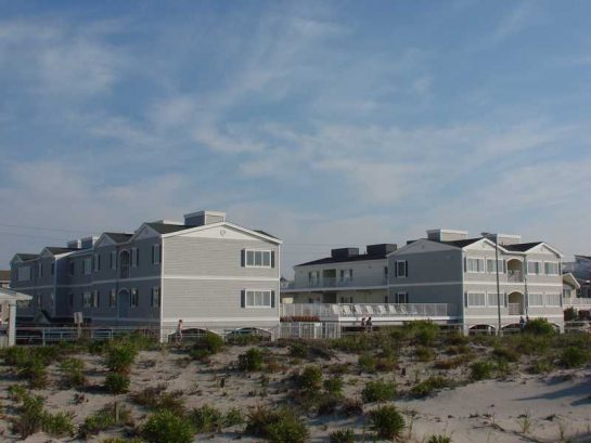 View of Condo Complex from Beach