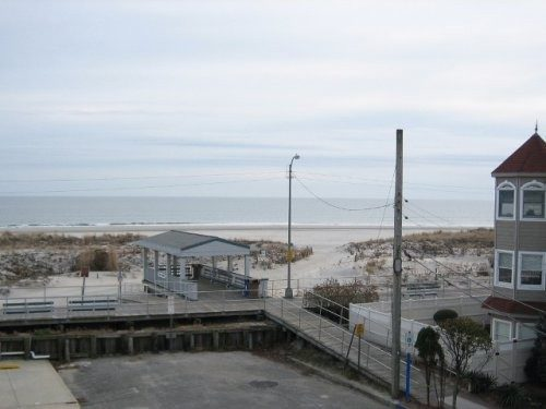Ocean View & Beach Entry from Condo