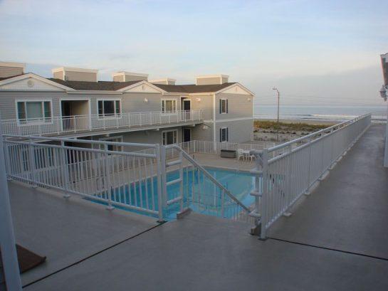 Ocean View From Pool Deck