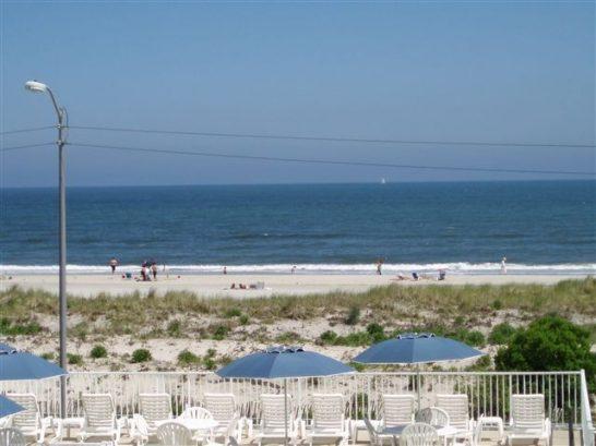 Ocean/beach View From Pool Deck