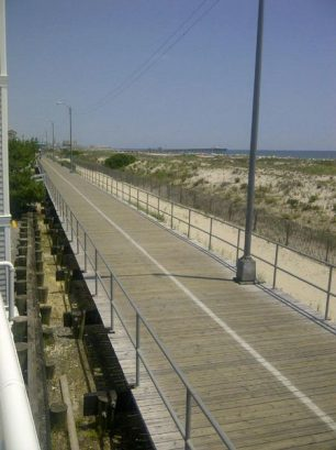 View Of Boardwalk From Pool Deck