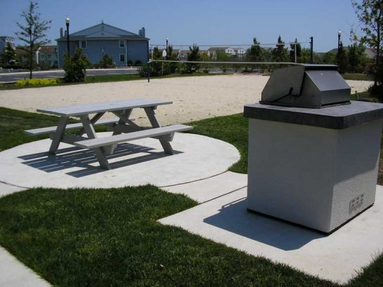 Sand Volleyball ,Tables and Gas Grills