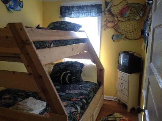 VIEW OF TWIN OVER A DOUBLE BEDROOM