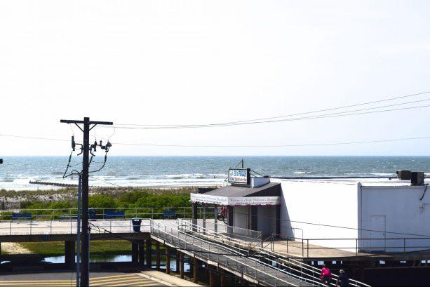Ocean Views from Spacious Deck