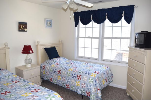 Another View of Bedroom Number 3 with 2 Twin Beds
