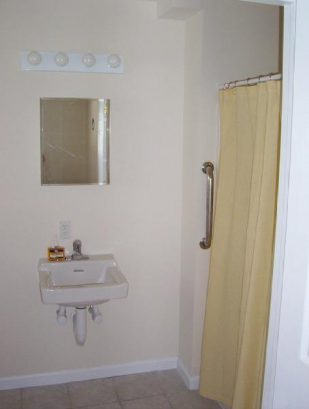 1st Handicap Accessible Bathroom