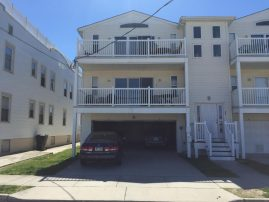 Beach Block Condo 3 houses from boardwalk and beach. CROSS NO STREETS