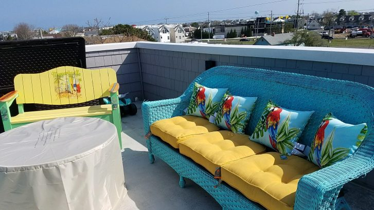 Roof Top Deck- Margaritaville