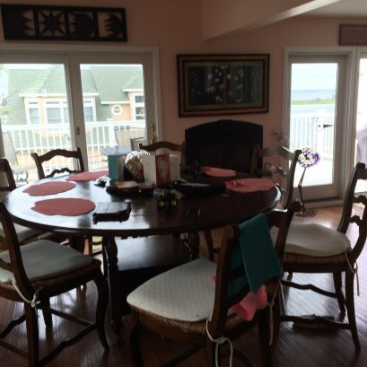 Family Kitchen Table- Seating 8