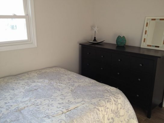 Queen Bedroom- Closet and large dresser
