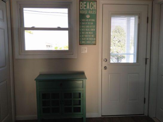 Door to Backyard