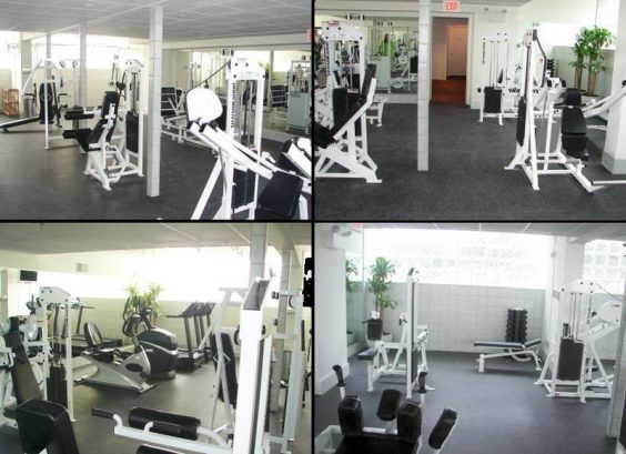 Workout Room With 16 Ex Machines, Tv
