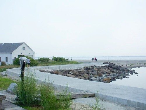 North Wildwood Seawall-a Nice Walk By Inlet