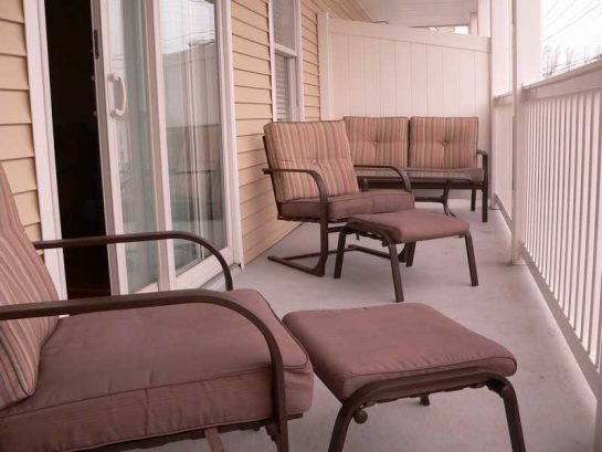 Relax on 2 decks!