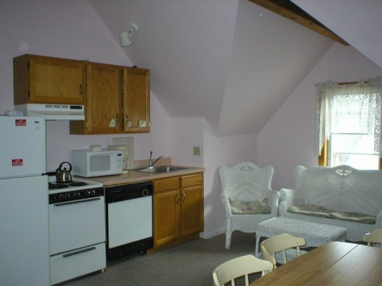 Kitchen / Living Room in Apt. E