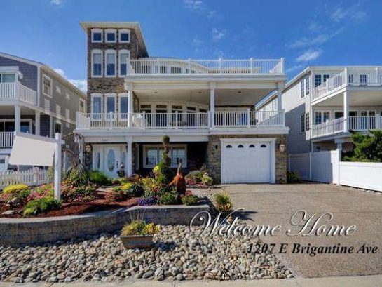 Exceptional Executive Luxury Beachfront Home with Panoramic Ocean Views near Atlantic City