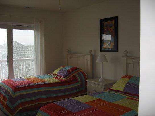 Bedroom #2 w/ Balcony