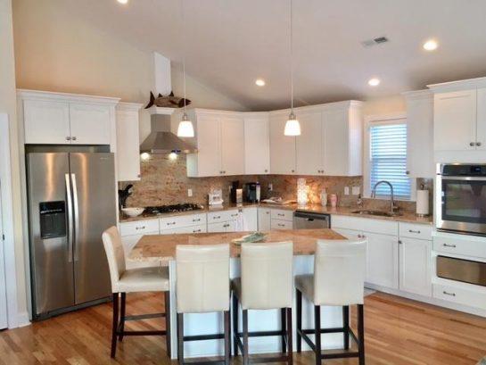 Gourmet Granite Kitchen