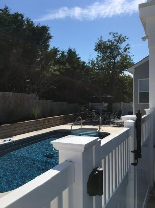 Safety locks and alarms on pool gates