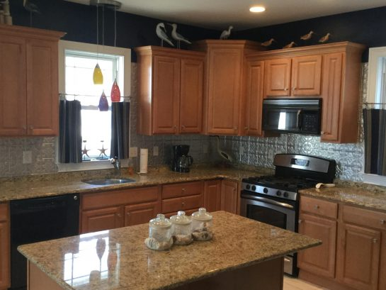Gourmet Kitchen with Granite Island