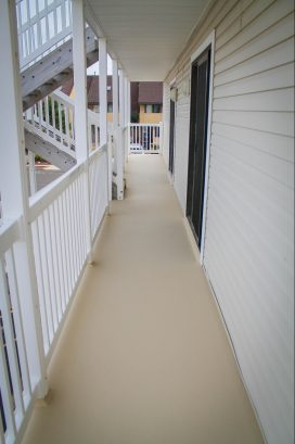 Rear Balcony off Master Bedroom - Partial View to Inlet