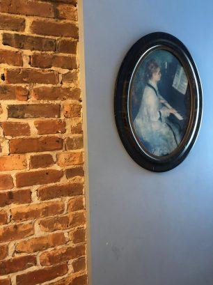 Renoir Bedroom has many Renoir pictures