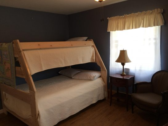 """Joy"" Bedroom - Pyramid Bunk (Single over Double)"
