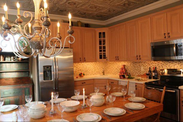 Kitchen with GE Adora Appliances