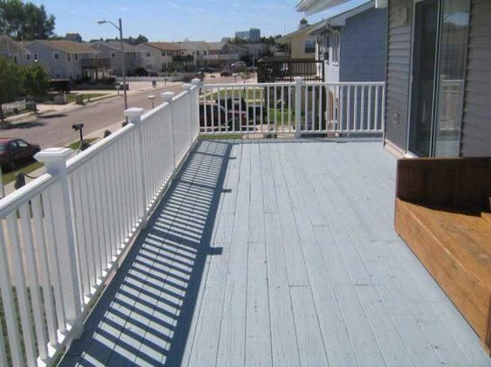 Large Deck Furnished During Season