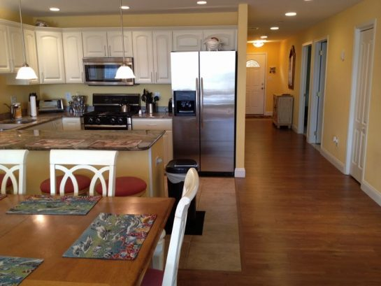 Large Dining And Kitchen Area