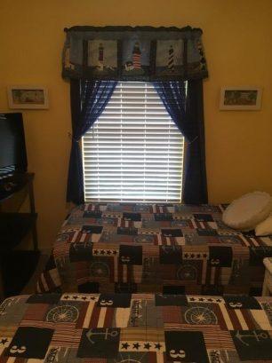 2nd Bedroom (queen & Twin Beds)