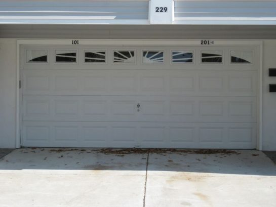 Garage And Driveway (right Side Is Ours)
