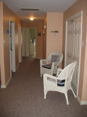 Hallway leading to back bedrooms