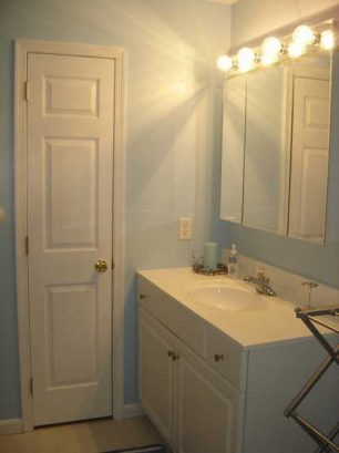 A View Of Master Bathroom