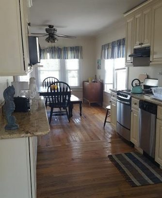 Yellow House - Kitchen/Dining Areas
