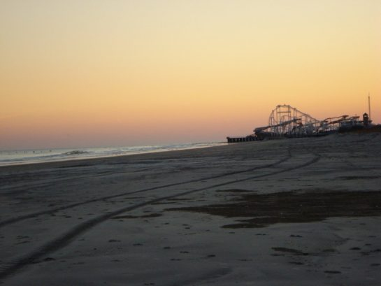 Sunset From 9th St. beach