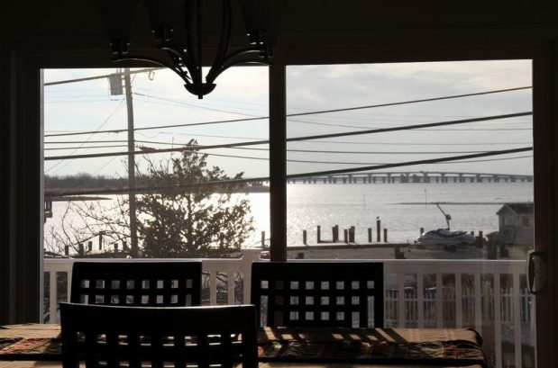 Bay View from the Dining Room Table
