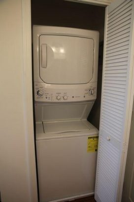 Washer and Dryer in the 2nd Floor Main Bath