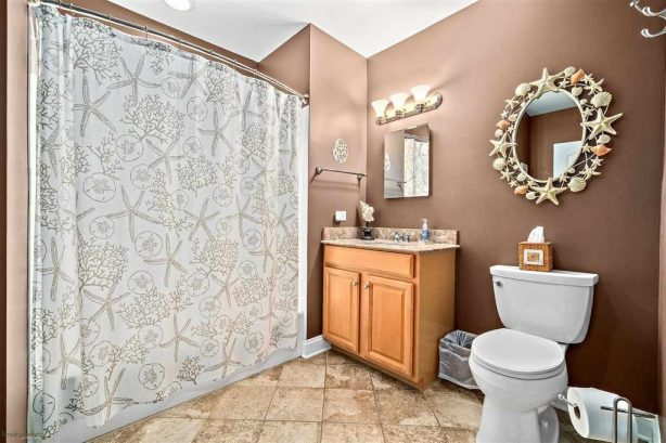 Main Bathroom with Tub/Shower Combo