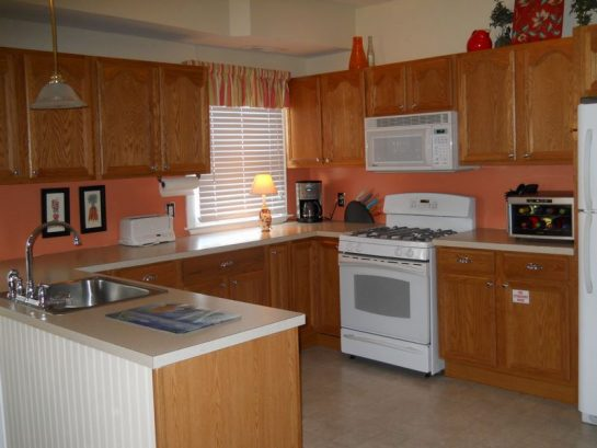 Kitchen With New Stove And Wine Chiller
