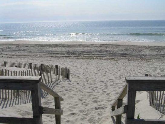 Beach (~9 Houses Away)
