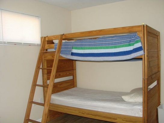Bedroom No. 4 - 2 Bunks and a Single