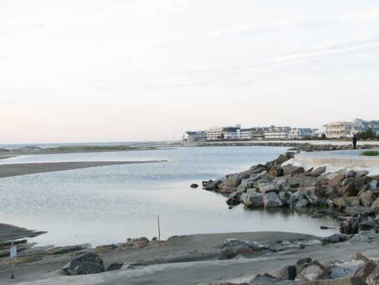 View Of The Seawall