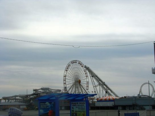 This Close To The Amusements