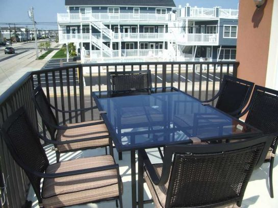Balcony Over Surf Ave With Patio Furniture 2nd Floor