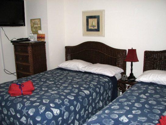 2nd Bedroom - 204 - 2 Full Beds - 32 Inch TV