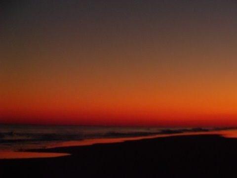Sunset on your 9th street beach