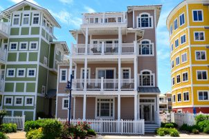 Gorgeous 4 Bedroom | 5 Bathroom Coastal Colors 4 Story Single Family Home
